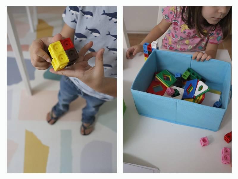 minimalismo con niños orden juguetes construcción igualidad