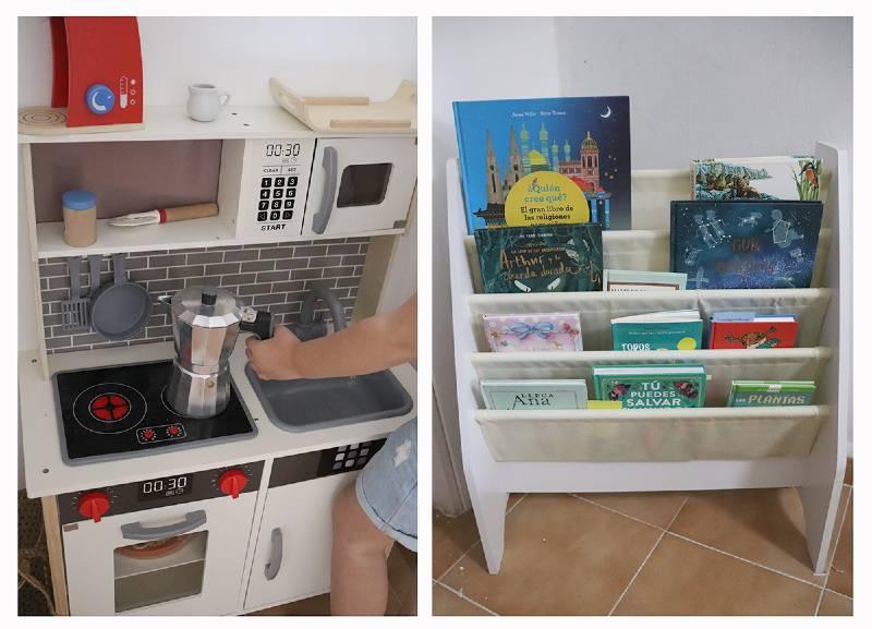 minimalismo con niños orden en casa libros juegos