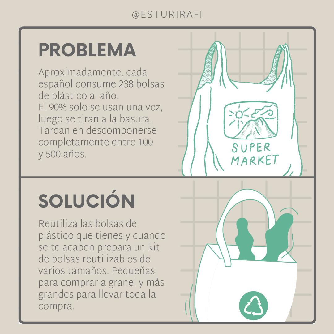 bolsas de plástico problema y solución