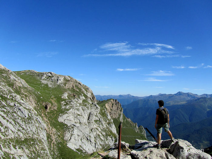 Plan slow para semana santa, senderismo, montañero, montañas, cantabria