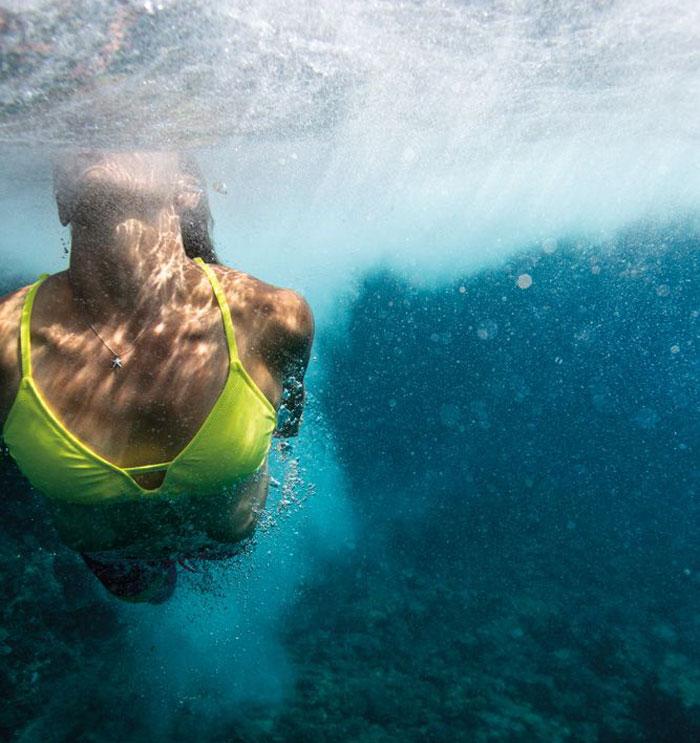 Cómo ponerte en forma en la playa  #nadar #bucear