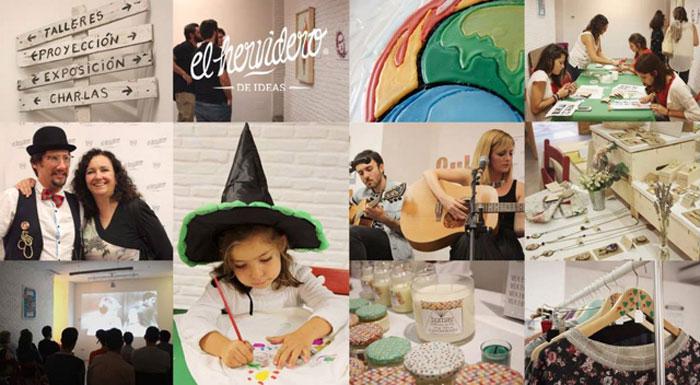 cocomarket, collage fotografico, mercado ecologico, sostenible, reciclaje, talleres, madrid