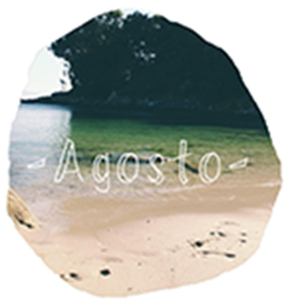 Calendario de agosto descargable freebie Esturirafi
