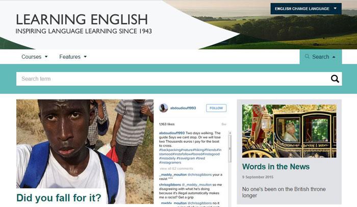 """Esta web es exclusiva para aprender inglés. Si tu objetivo es avanzar en tus conocimientos y comprensión del inglés, esta es una web que no te puedes perder. Varios niveles y un montón de contenidos, para leer y escuchar """"real english""""."""