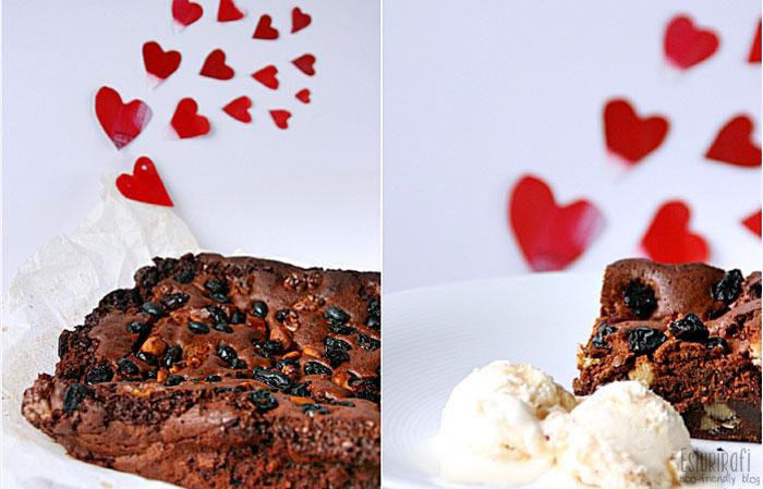 Las recetas de Esturirafi. Brownie #recetas