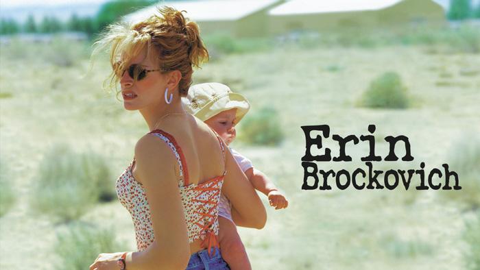 Erin Brockovich Julia Roberts pelicula ecologia fracking