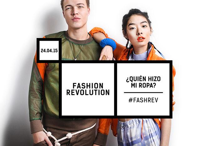 Quien hizo mi ropa Fashion Revolution Day