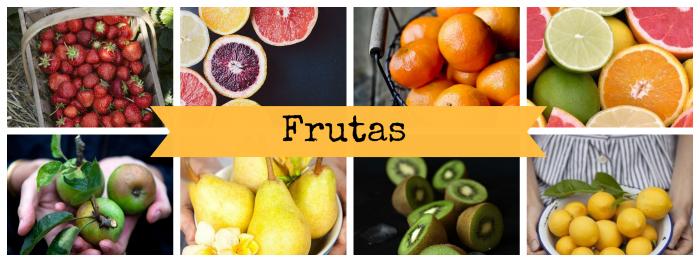 Frutas de temporada del mes de marzo
