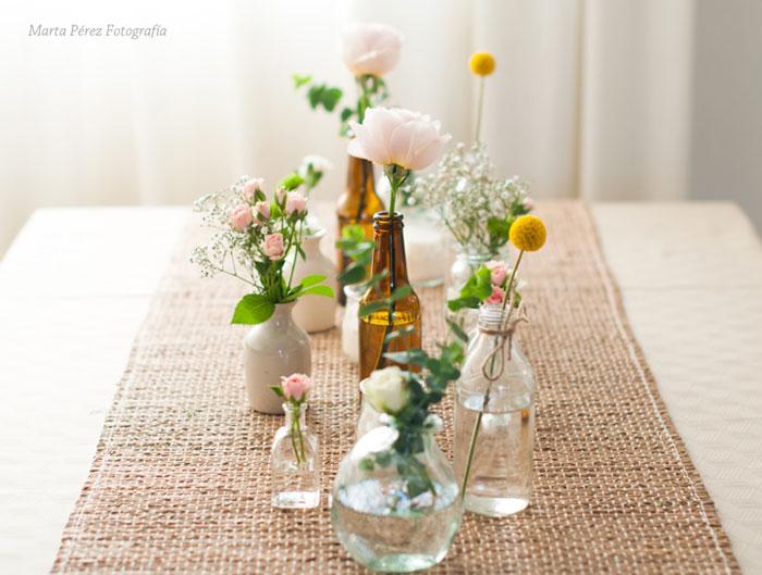Llenar la casa de flores