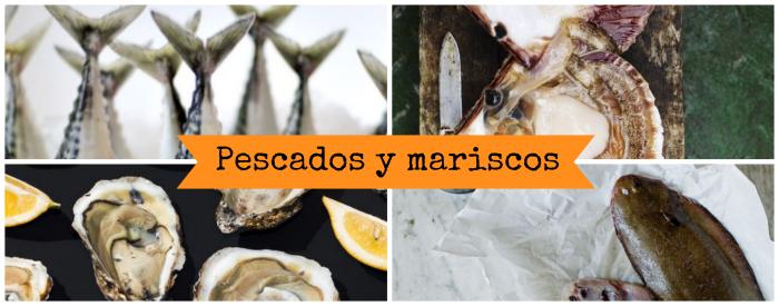 Pescados y mariscos de temporada del mes de marzo