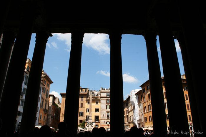 Panteón de Roma desde otro ángulo